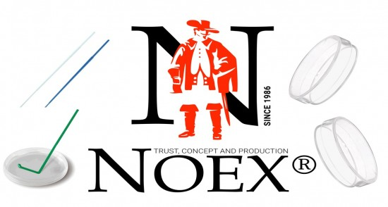 UTT now represents NOEX, the giant European laboratory plastic manufacturer.